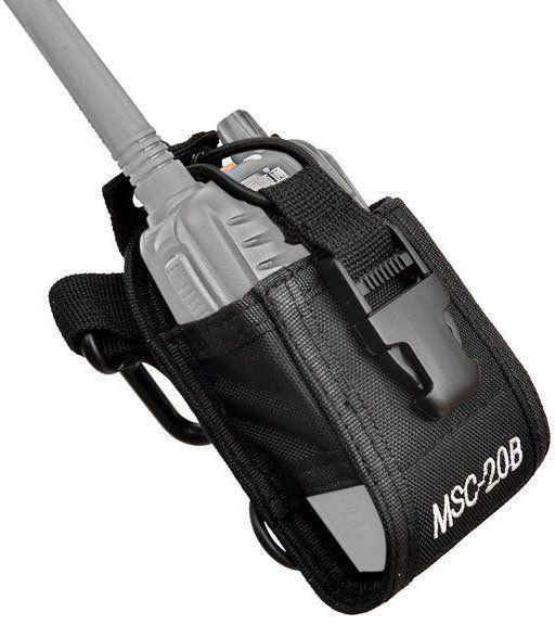 Чехол для раций Baofeng/Kenwood MSC-20B черный/универсальный