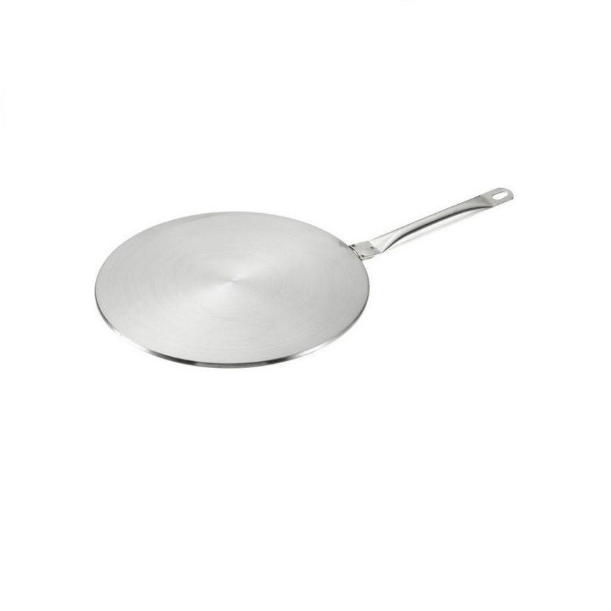 Адаптер для индукционной плиты 19 см (нерж.сталь, 2 слоя, 0.6 см)